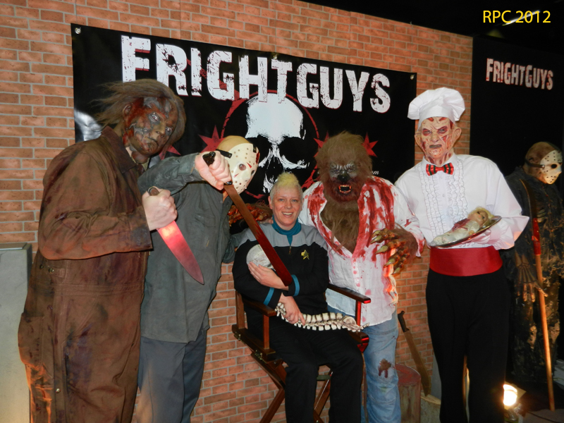 Leatherface, Mike Meyers, Werewolf, Freddy Krueger